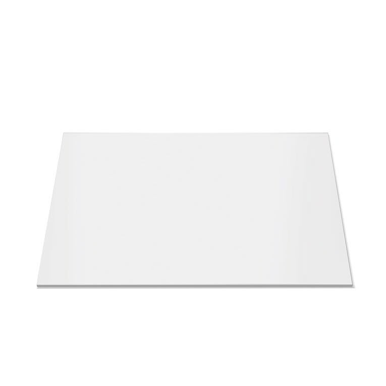"Rosseto SG022 14"" Square Display Platter - Acrylic, White"