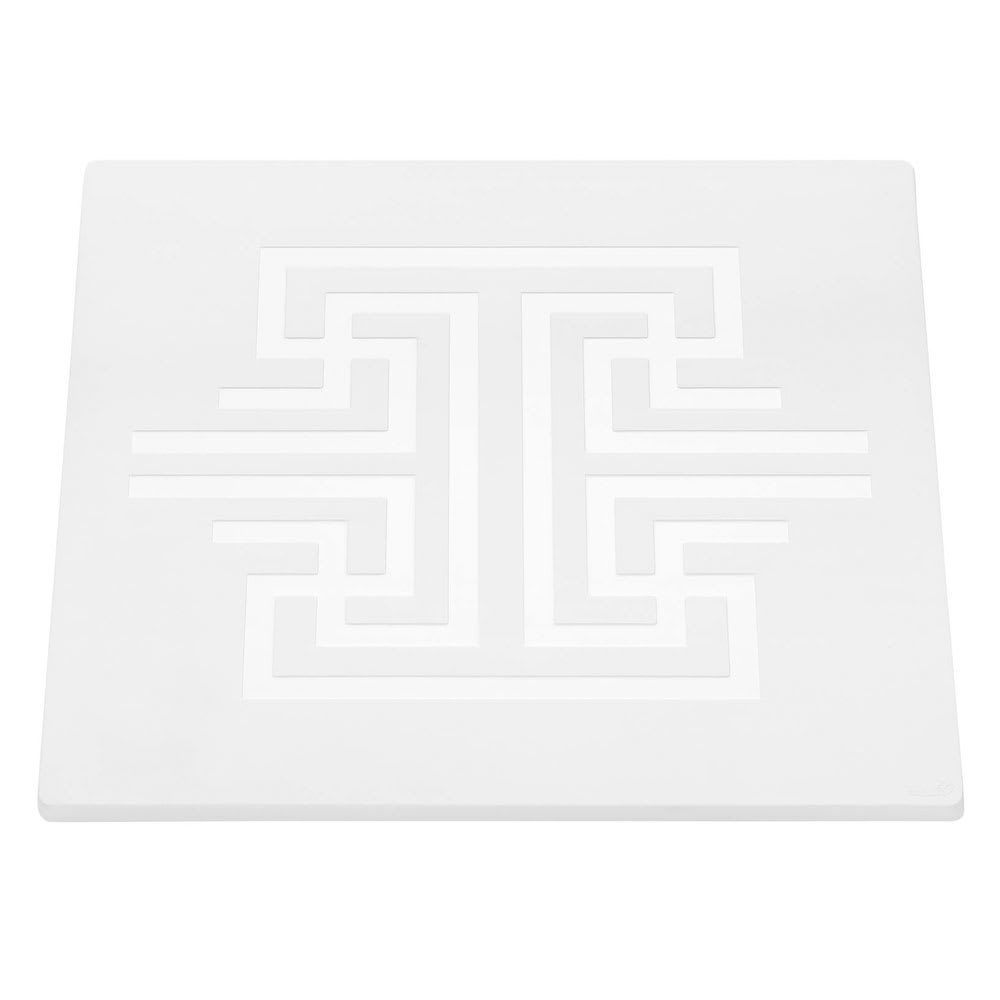 "Rosseto SG039 14"" Square Display Tray - Melamine, White"