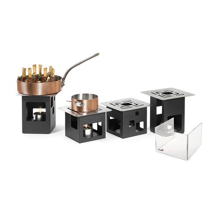 Rosseto SK019 14-Piece Square Warmer Kit - Black