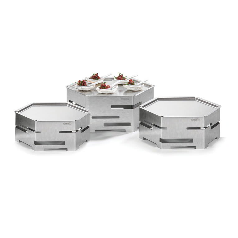Rosseto SK021 9-Piece Honeycomb Cooler Kit - Stainless