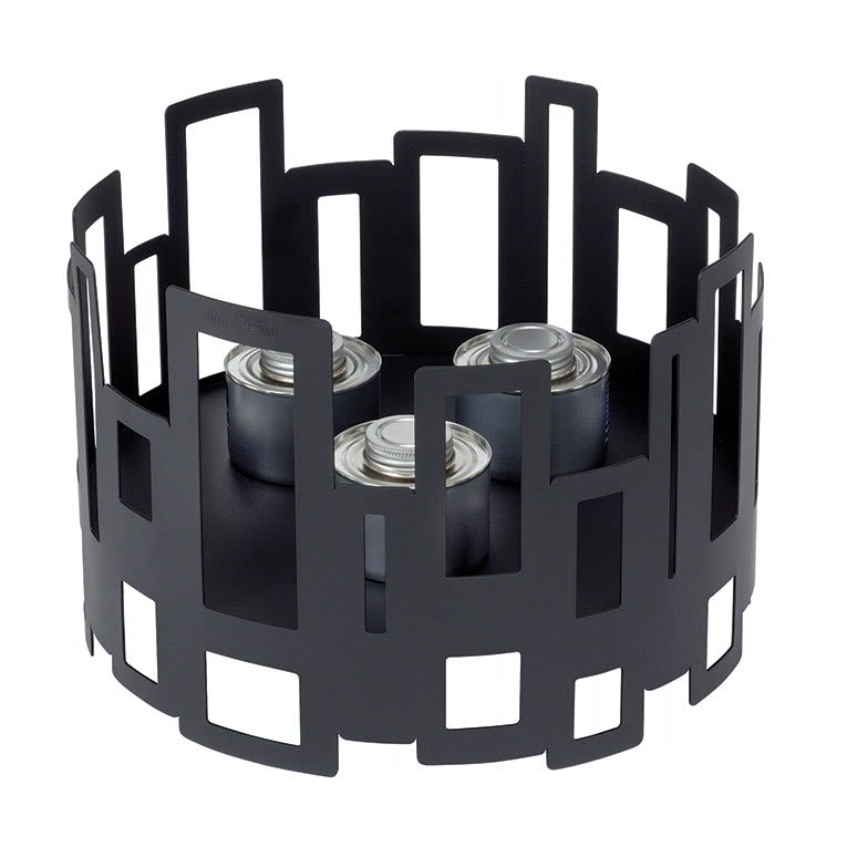 "Rosseto SM111 14"" Round Warmer/Chafer - 10"" High, Black"