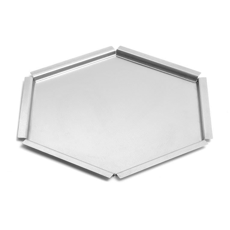 "Rosseto SM119 14 1/2"" Honeycomb Display Platter - Stainless"