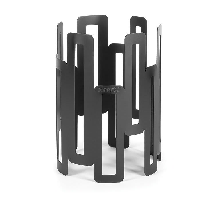 "Rosseto SM126 8"" Round Display Riser - 11"" High, Black"
