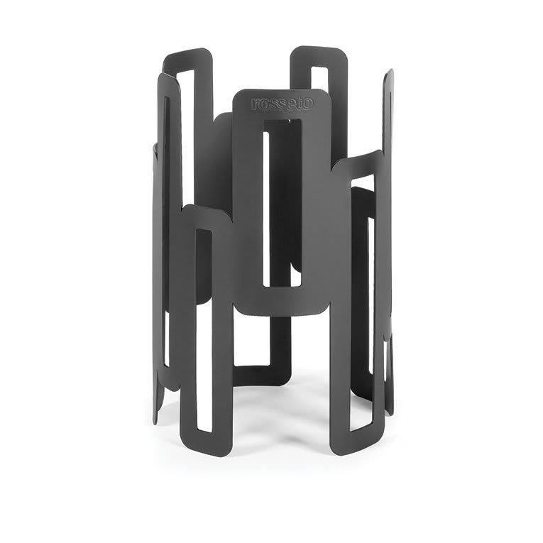 "Rosseto SM127 6-1/2"" Round Display Riser - 10"" High, Black"