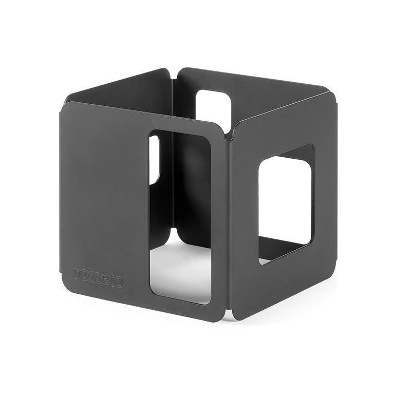"Rosseto SM128 5 1/2"" Cube Display Riser - Black"