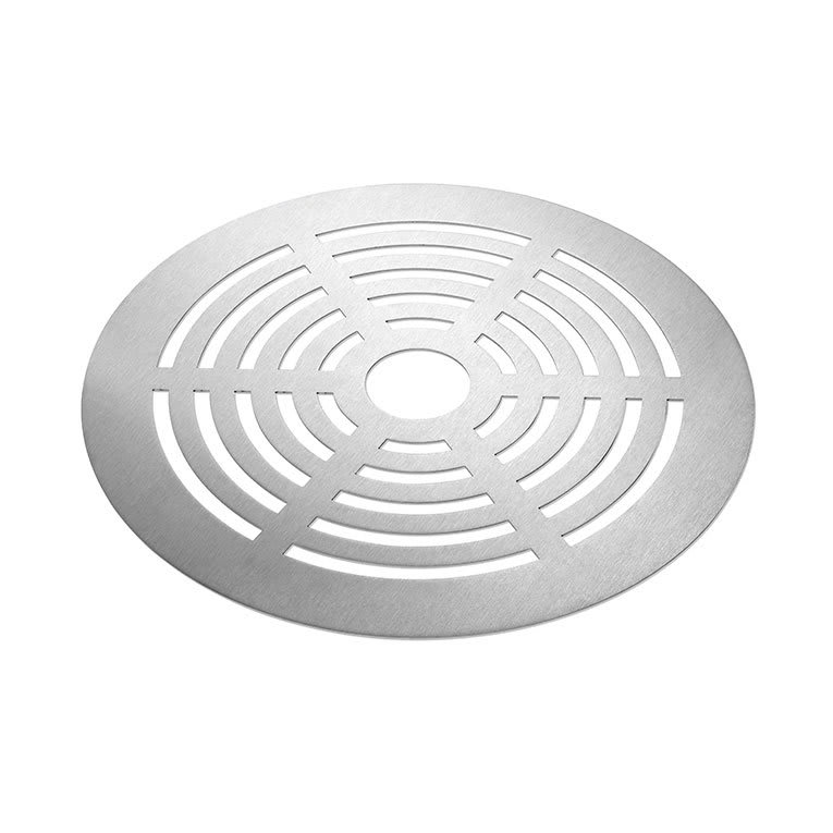 "Rosseto SM138 16"" Round Grill for Buffet Warmer - Stainless"