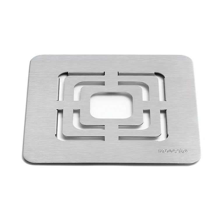"Rosseto SM139 10"" Square Grill for Buffet Warmer - Stainless"