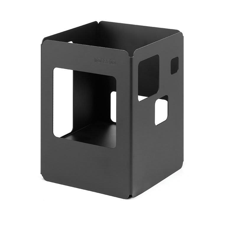 "Rosseto SM141 10"" Square Warmer - Black"