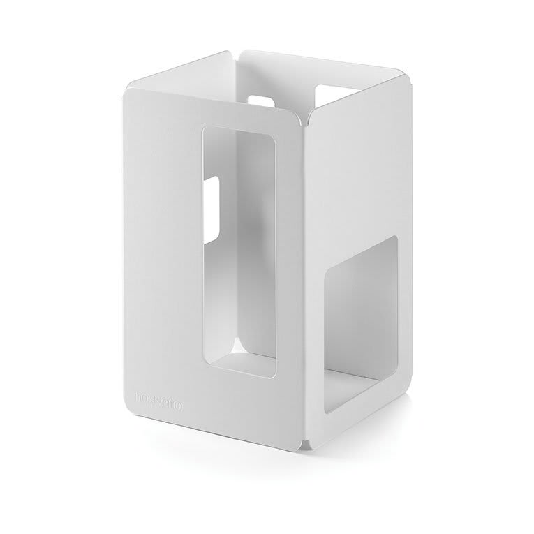 "Rosseto SM149 6"" Square Display Riser - 10"" High, White"