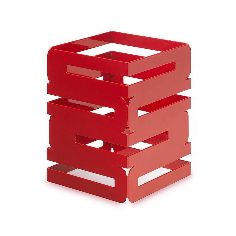 "Rosseto SM185 8"" Square Multi-Level Riser - Red Gloss Finish"
