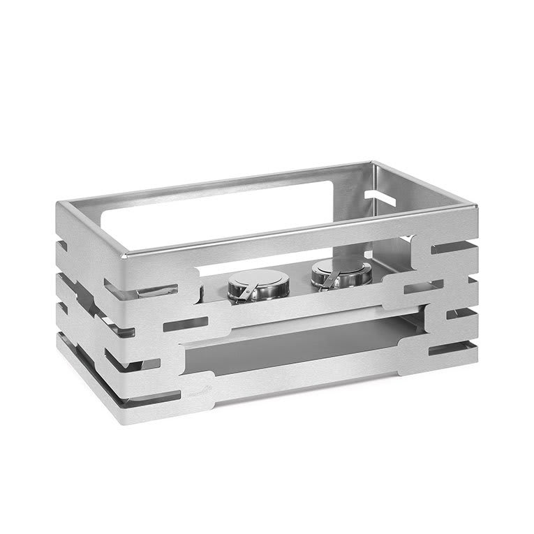 "Rosseto SM191 Rectangular Warmer Kit - 21-1/2x13-1/2x10"" Stainless"