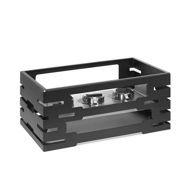 "Rosseto SM195 Rectangular Warmer Kit - 21-1/2x13-1/2x10"" Black"