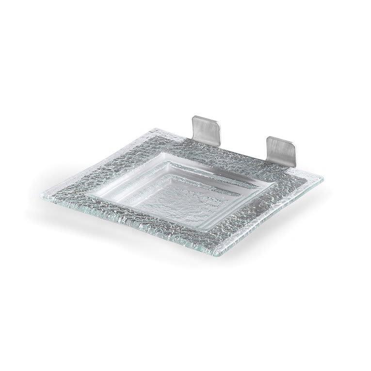 Rosseto SM198 Shelf for Skycap Risers w/ Green Platter & Stainless Frame