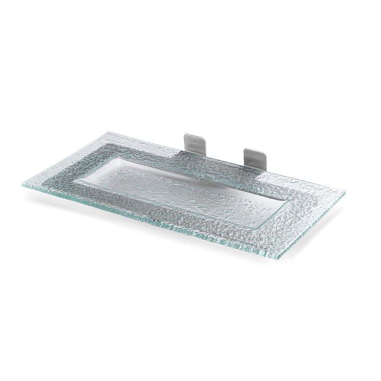 Rosseto SM202 Shelf for Skycap Risers w/ Green Platter & Stainless Frame