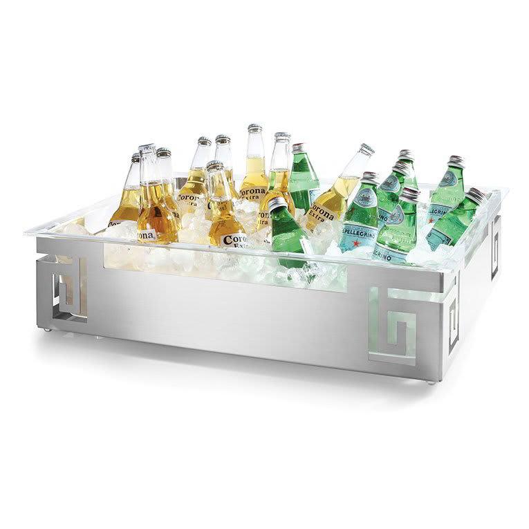 Rosseto SM213 Extra Large Ice Tub - Acrylic Tub, Stainless