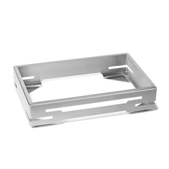 "Rosseto SM230 Rectangular Warmer Base - 21.6"" x 13.56"", Stainless"