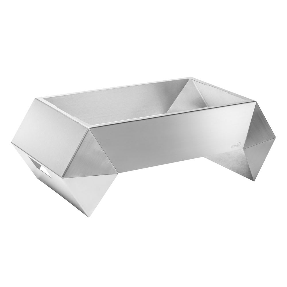 "Rosseto SM254 Rectangular Warmer Base - 28"" x 16.63"", Stainless"