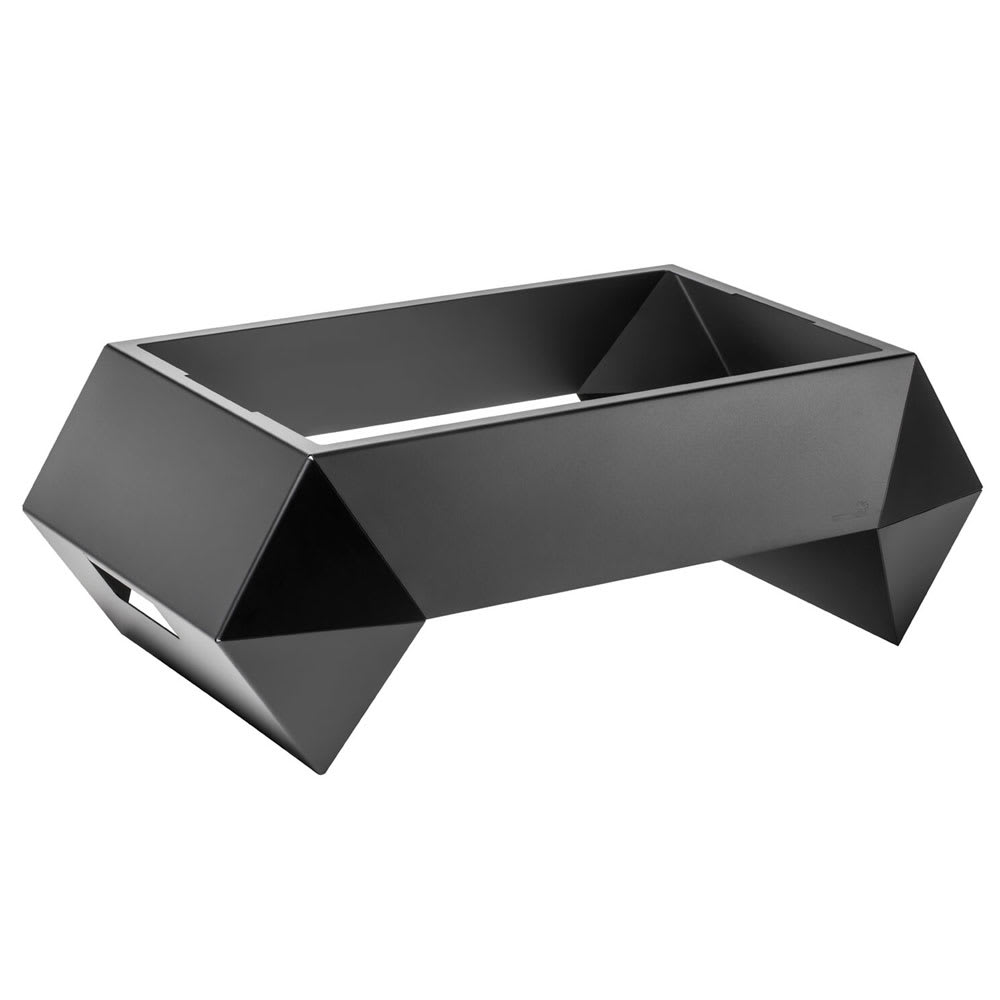 "Rosseto SM273 Rectangular Warmer Base - 28"" x 16.63"", Brushed Stainless"