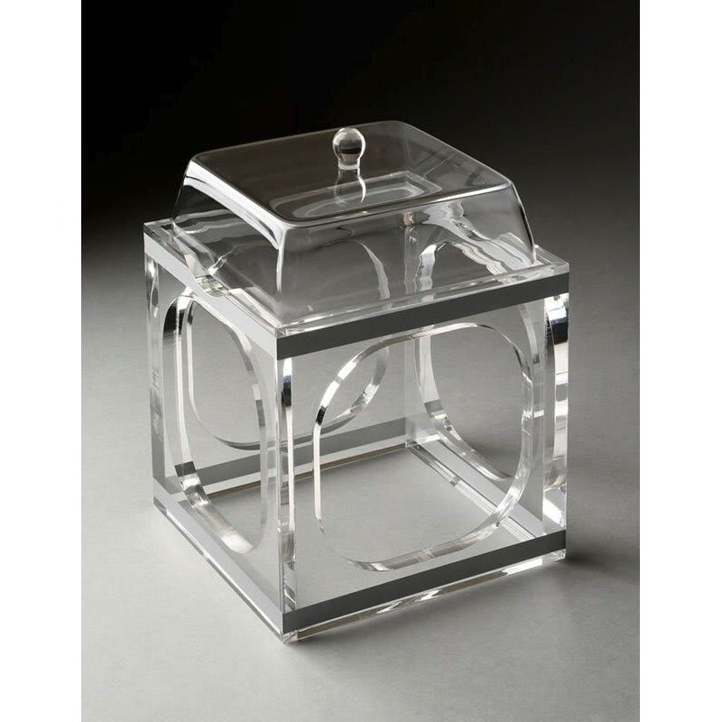 """Rosseto SMP1487 Small Mod Pod with Lid - 6x6x7-2/3"""" Clear Acrylic"""