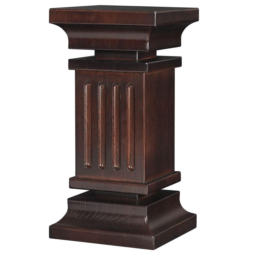 "Rosseto SW107 12"" Column Display Riser - Oak w/ Walnut Finish"
