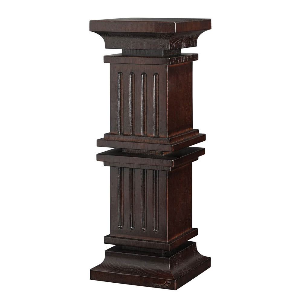 "Rosseto SW108 19.3"" Multi-Level Column Display Riser - Oak w/ Walnut Finish"