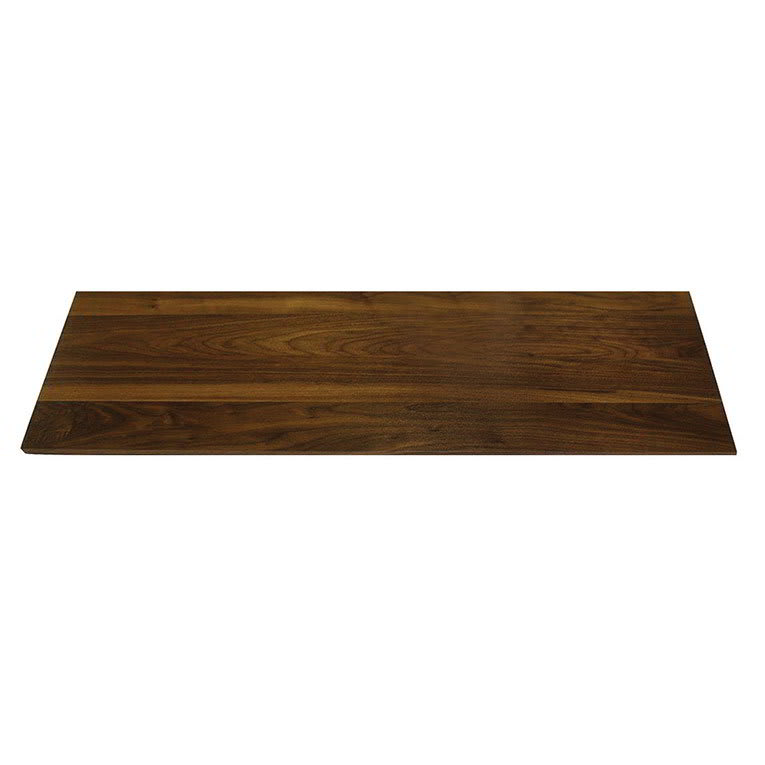 "Rosseto WP201 Rectangular Platter/Display Surface - 7.75x33.5"" Walnut"