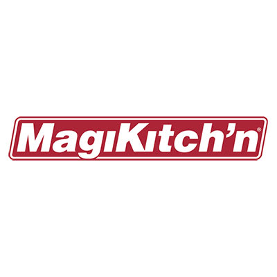 Magikitch'n 72021316500 Side Shelf, Stainless Steel, Fits Either Side