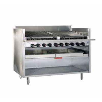 "Magikitch'n FM-RMB-636 36"" Radiant Charbroiler, Floor Model, NG"