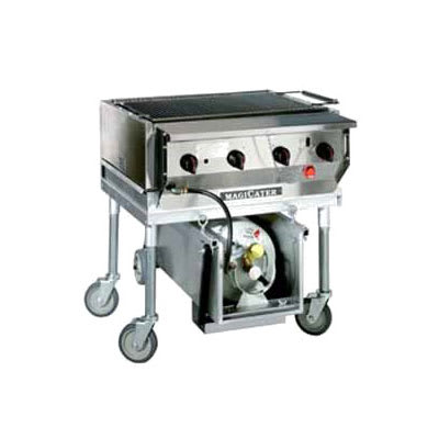 "Magikitch'n LPAGA-30 30"" Outdoor Gas Grill - Heavy Duty, Stainless"