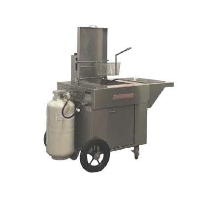 Magikitch'n MCF14 Outdoor Gas Fryer - (1) 40-lb Vat, LP