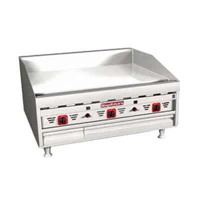 """Magikitch'n MKG-36 36"""" Gas Griddle - Thermostatic, 1""""  Plate, NG"""