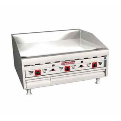 """Magikitch'n MKG-36-ST 36"""" Gas Griddle - Thermostatic, 1""""  Plate, LP"""