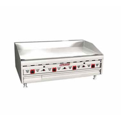 """Magikitch'n MKG-48-E 48"""" Gas Griddle - Thermostatic, 1""""  Plate, NG"""