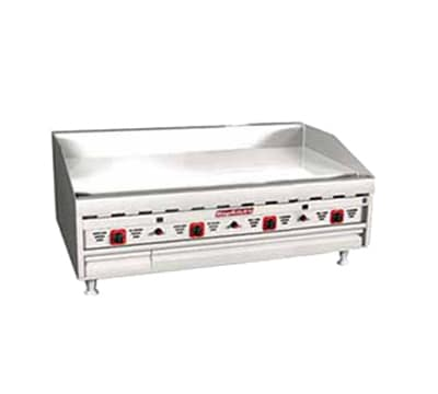 """Magikitch'n MKG-48 48"""" Gas Griddle - Thermostatic, 1""""  Plate, LP"""