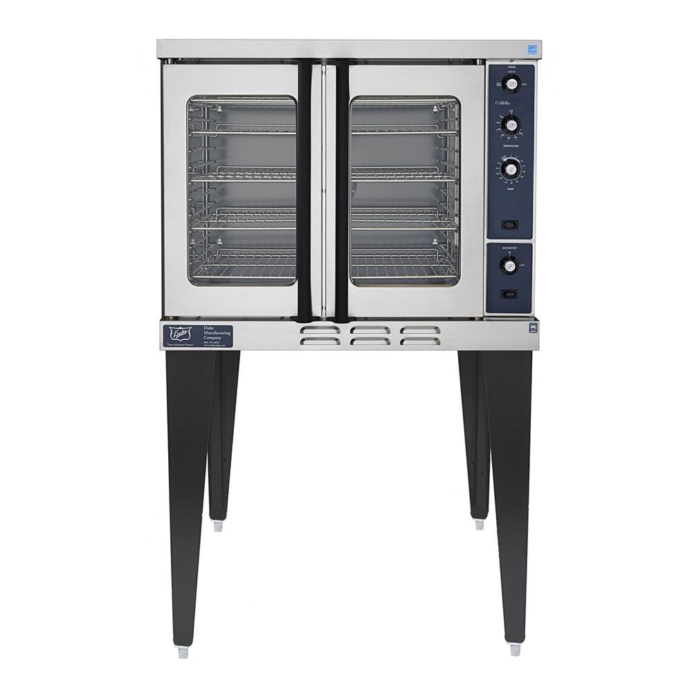 Duke E101-G Single Full Size Natural Gas Convection Oven - 40,000 BTU