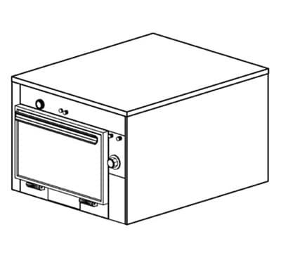 Duke 1601P Freestanding Insulated Heated Cabinet w/ (3) Pan Capacity, 208v/1ph