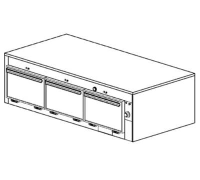 Duke 1603 Freestanding Insulated Heated Cabinet w/ (9) Pan Capacity, 240v/3ph