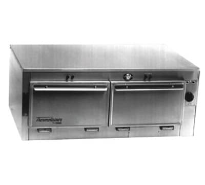 "Duke 1652P 120 Pass Thru Heated Cabinet, 1-Thermostat Per 2-Compartment, 9x22x28.5"", 120 V"