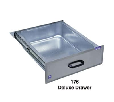 Duke 176 Deluxe Drawer w/ Galvanized Liner, On Ball-Bearing Roller Slides