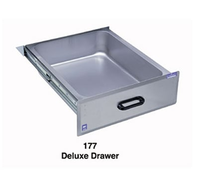 Duke 177 Deluxe Drawer w/ Stainless Front & Liner