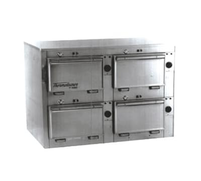 "Duke 2314P 120 Pass Thru Heated Cabinet, 1-Thermostat Per 4-Compartment, 9X14X23.5"", 120 V"