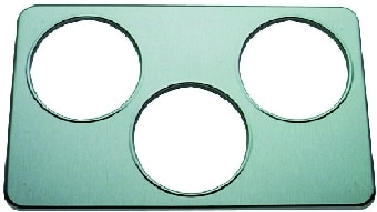 "Duke 31 Adaptor Plate - 3, 6.5""Holes - Stainless Steel"