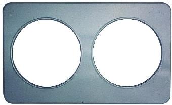 """Duke 32 Adaptor Plate - 2, 8.5""""Holes - Stainless Steel"""