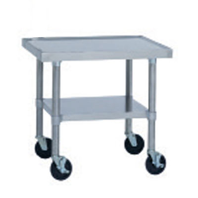 "Duke 591A-2424 24"" Mixer Table w/ All Stainless Undershelf Base, Shipped Knocked Down, 24""D"