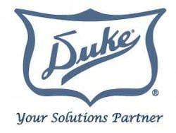 Duke 73 Silverware Dispenser Unit w/ Stainless Holder, Round Cutouts