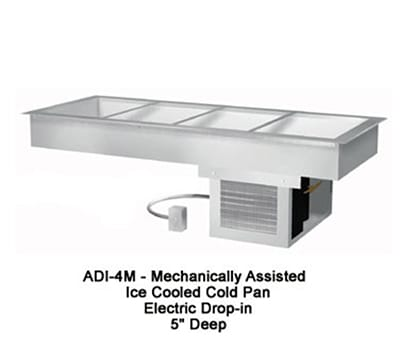 "Duke ADI2M 32"" Drop-In Refrigerator w/ (2) Pan Capacity, Cold Wall Cooled, 120v"