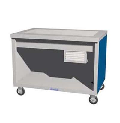 """Duke TCM-88SS 120 88"""" Mobile Cold Food Unit, All Stainless, 120 V"""