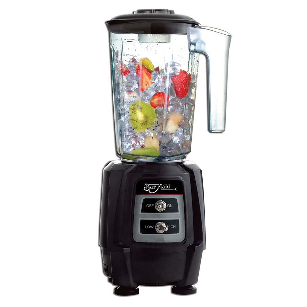 Bar Maid BLE-111 Countertop Drink Blender w/ Polycarbonate Container