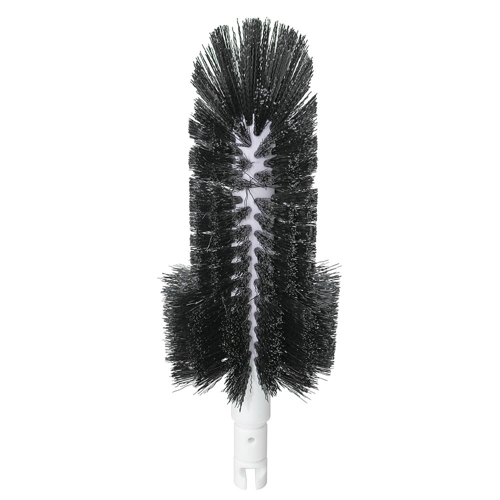 """Bar Maid BRS-976 9"""" Glass Washer Brush for Pilsner up to 8.5"""" Deep"""