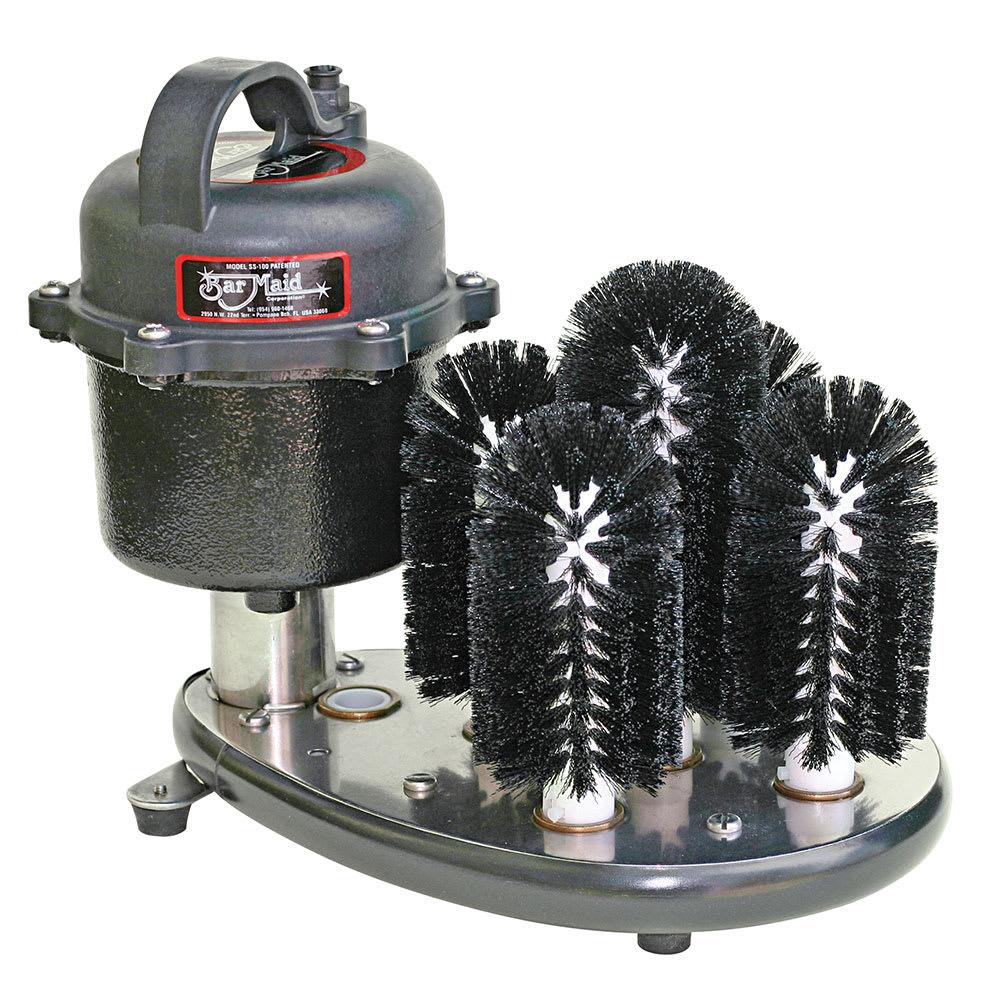 Bar Maid SS-100 Submersible Glass Washer - 5 Brush